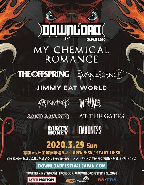 DownLoad Japan出演アーティスト特集